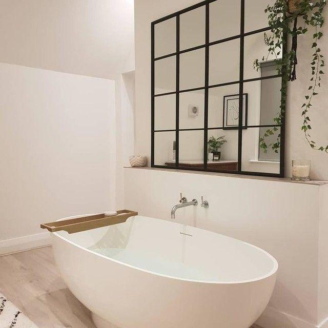 Spiegel In Fensteroptik Mit Schwarzem Metallrahmen 122x122 Maisons Du Monde Spiegel Fenster Landhaus Einrichtung Badezimmer Design