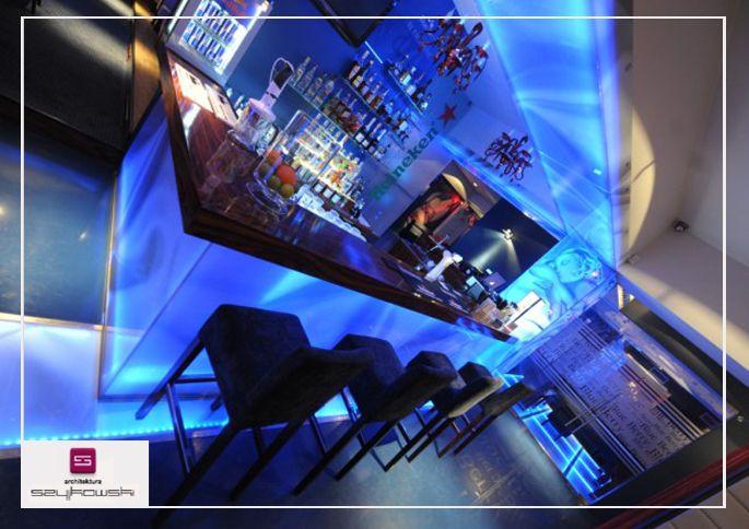 Projekt wnętrz klubu muzycznego. Aranżacja restauracji wraz z projektami mebli oraz wyposażenia gastronomicznego.Projekt aranżacji baru. Wiecej informacji można znaleźć pod adresem: http://szyjkowski.com/portfolio
