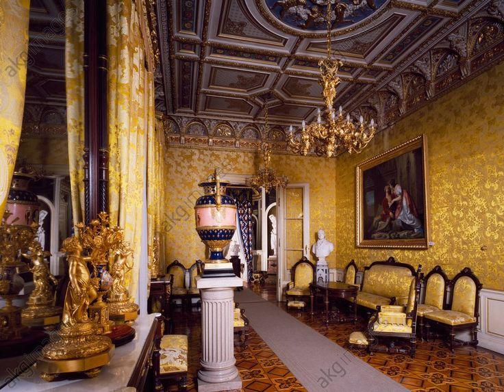 Palazzo Revoltella, Salotto Giallo. Trieste