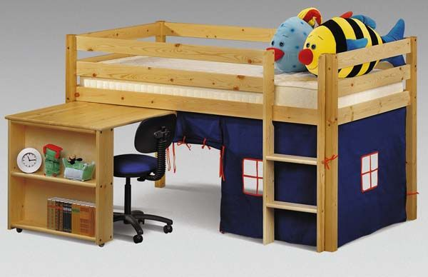 Captains Bed With Desk Woodworking Projects Amp Plans