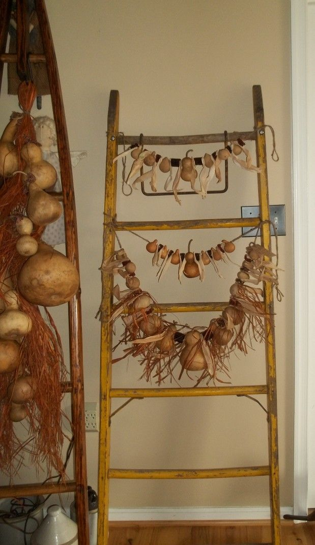 all gourd garlands now at both olde time treasures in hagerstown and greencastle antiques pa