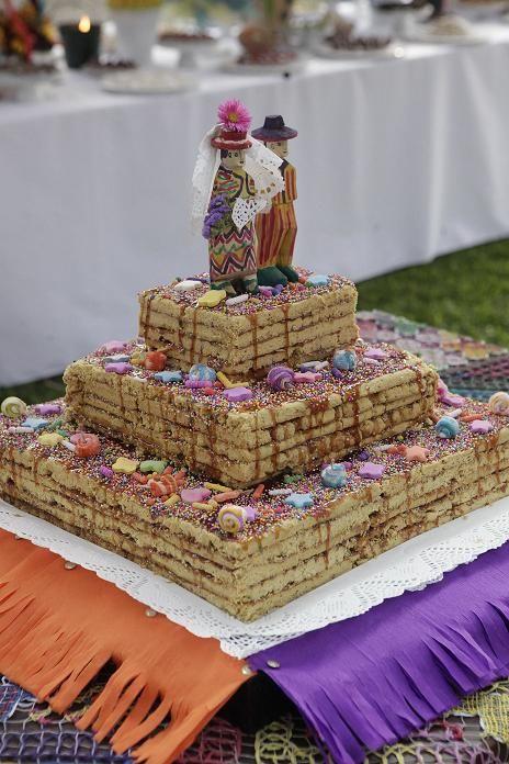 Un turrón de Doña Pepa como torta