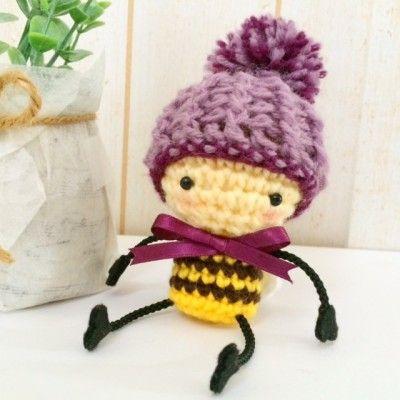 Amigurumi Buz-buz the Honey Bee by:-Kazumi_KnK
