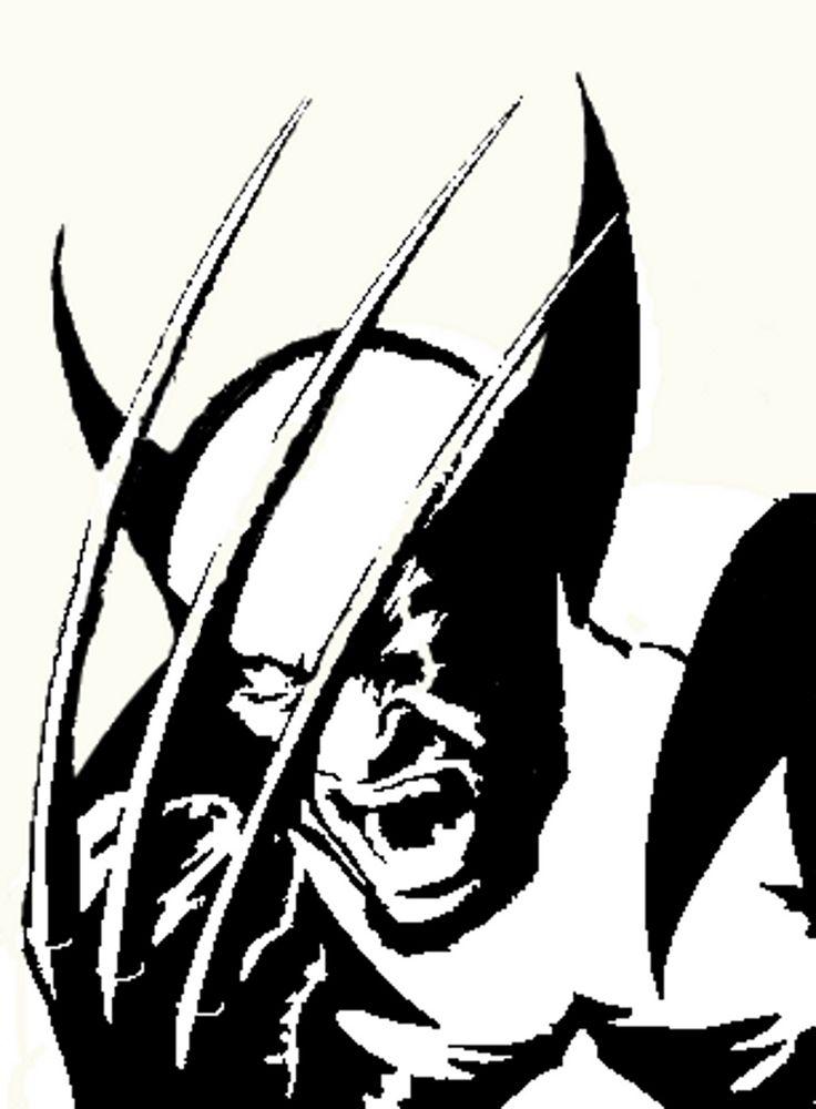 Wolverine Stenciling Paper Cutting Scroll Saw