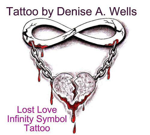 awesome Women Tattoo - Lost Love tattoo design by Denise A. Wells...