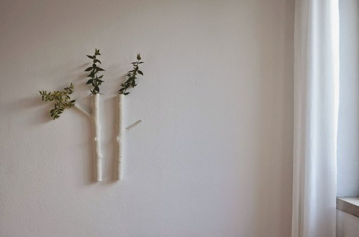 ❍ Porcelain large wall branches by Otchipotchi . February 2015