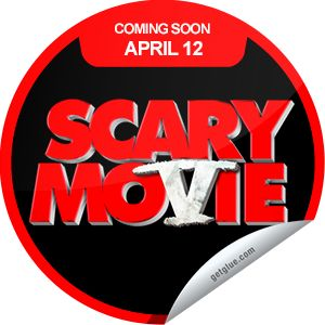 I just unlocked the Scary Movie 5 Coming Soon sticker on GetGlue                      2144 others have also unlocked the Scary Movie 5 Coming Soon sticker on GetGlue.com                  This movie is going to be scary. Scary fun that is! Be sure to see Scary Movie 5 when it opens in theaters on 4/12.  Share this one proudly. Its from our friends at Weinstein Company.