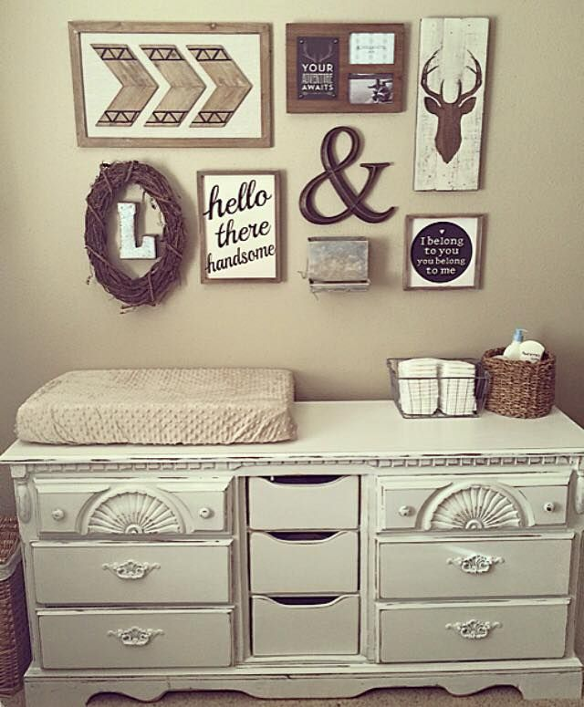 Best 25 rustic nursery ideas on pinterest rustic for Baby wall decoration ideas