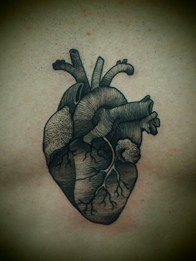 real heart tattoo - Pesquisa Google