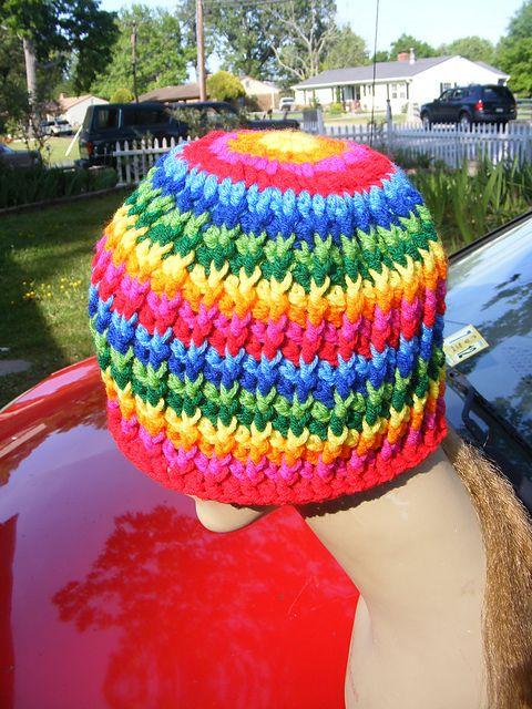 "Ravelry: Basic Hat Pattern Version 101 ""Rattails"" pattern by Sherry Etheridge  Free  Pattern!"