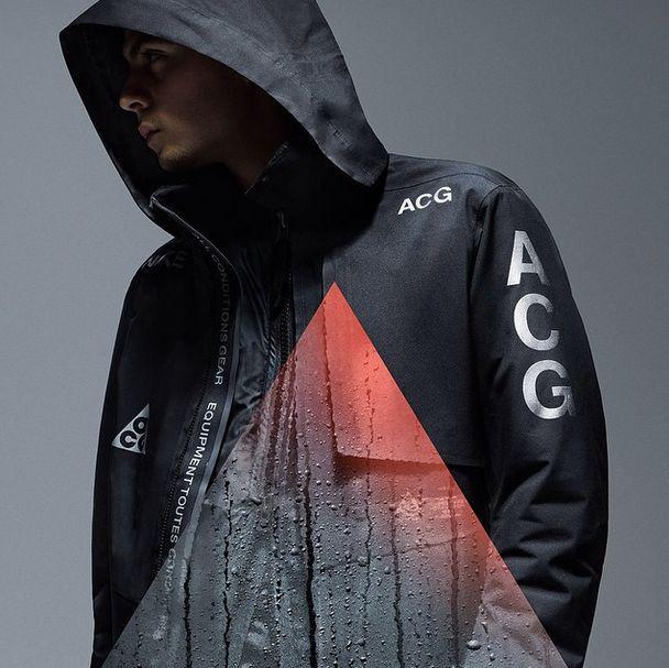 nike nikelab nike acg jacket campaign visual retail all conditions gear 1948 21 mercer