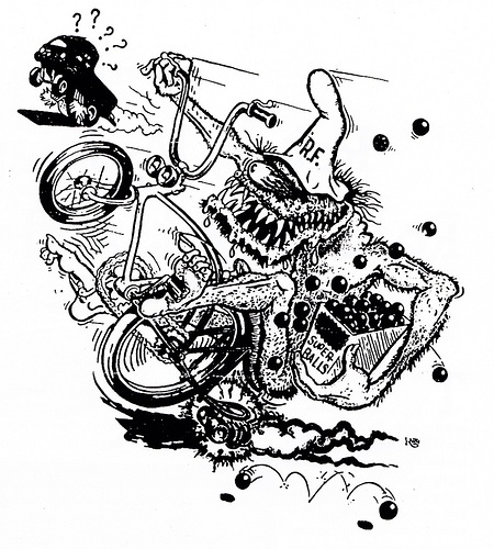 rat fink coloring pages - photo#16