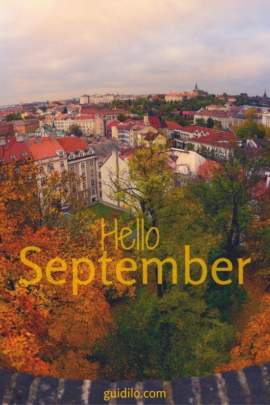 September Events in Prague