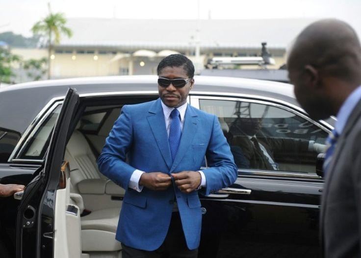 Teodorin Obiang, le fils du président de Guinée équatoriale, le 24 juin 2013 à Malabo