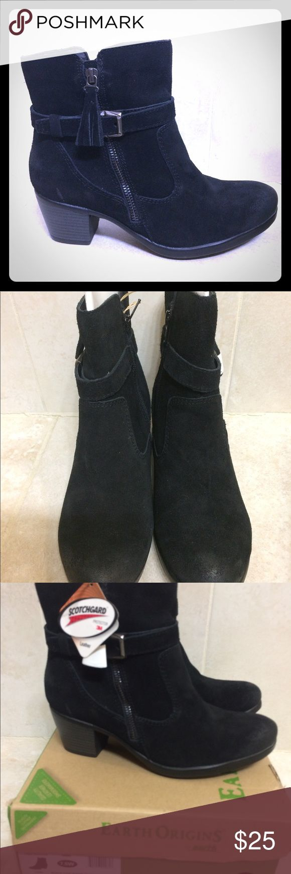 Earth Origins Tori Heel Ankle Boot sz 7.5W Brand new, in the box. Tori Heel. Gorgeous suede that's water resistant. Shoes Ankle Boots & Booties