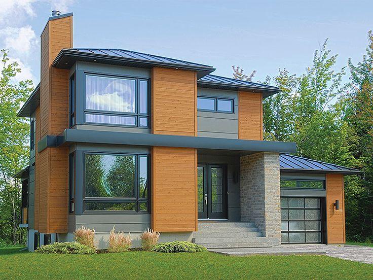 63 best Modern House Plans images on Pinterest   Modern house ...