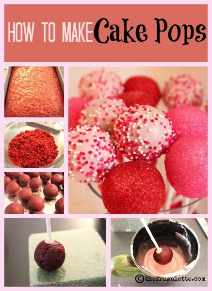 How to Make the Ultimate Cake Pops. Mahreah has been asking me to do this with her, and now I have a little background on the how-to part. Hooray!