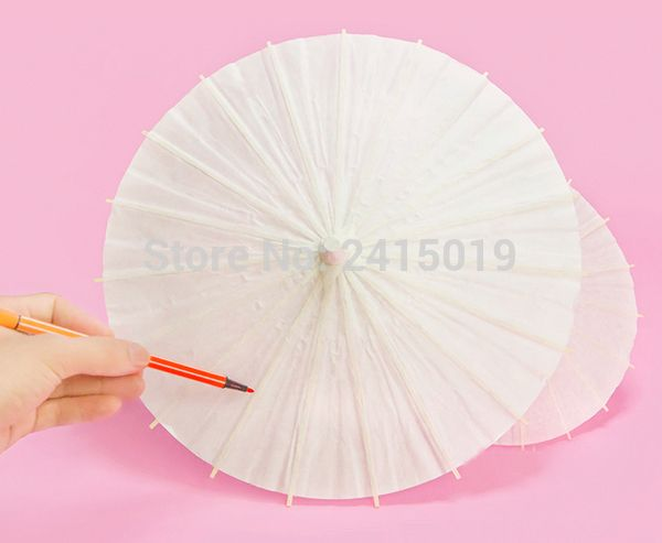>> Click to Buy << Blank unpainted Chinese traditional craft oil paper umbrella party kids DIY kits favor school kindergarten chiid paint coloring  #Affiliate