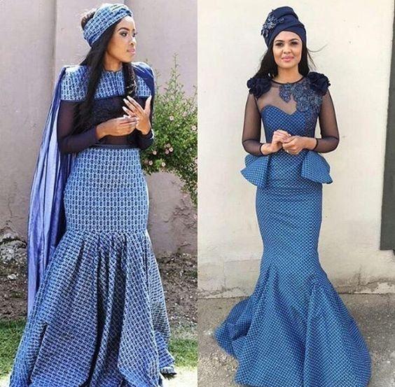 Tswana Traditional Wedding / Dresses And Wear ⋆ Fashiong4