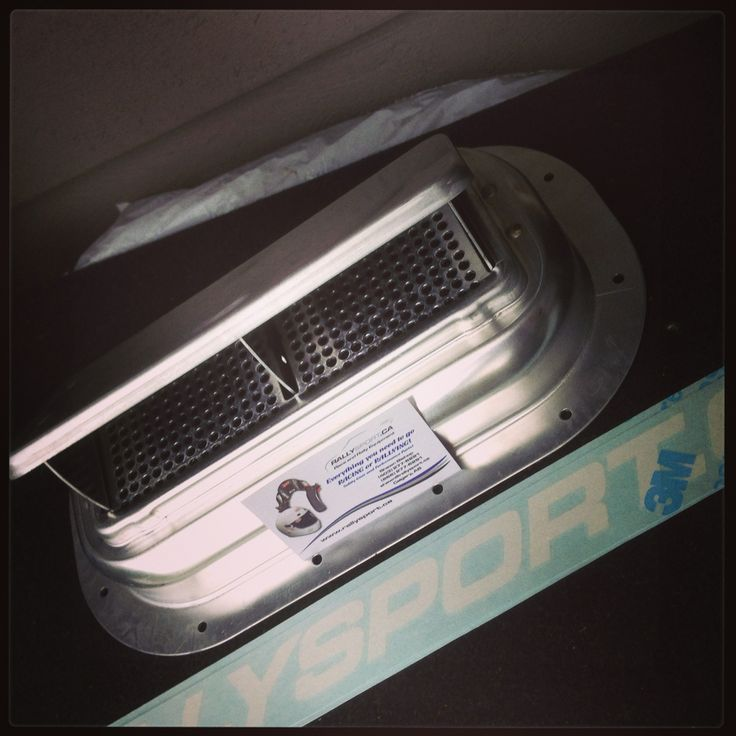 Live My New Roof Vent For The Yaris Rally Car This Will