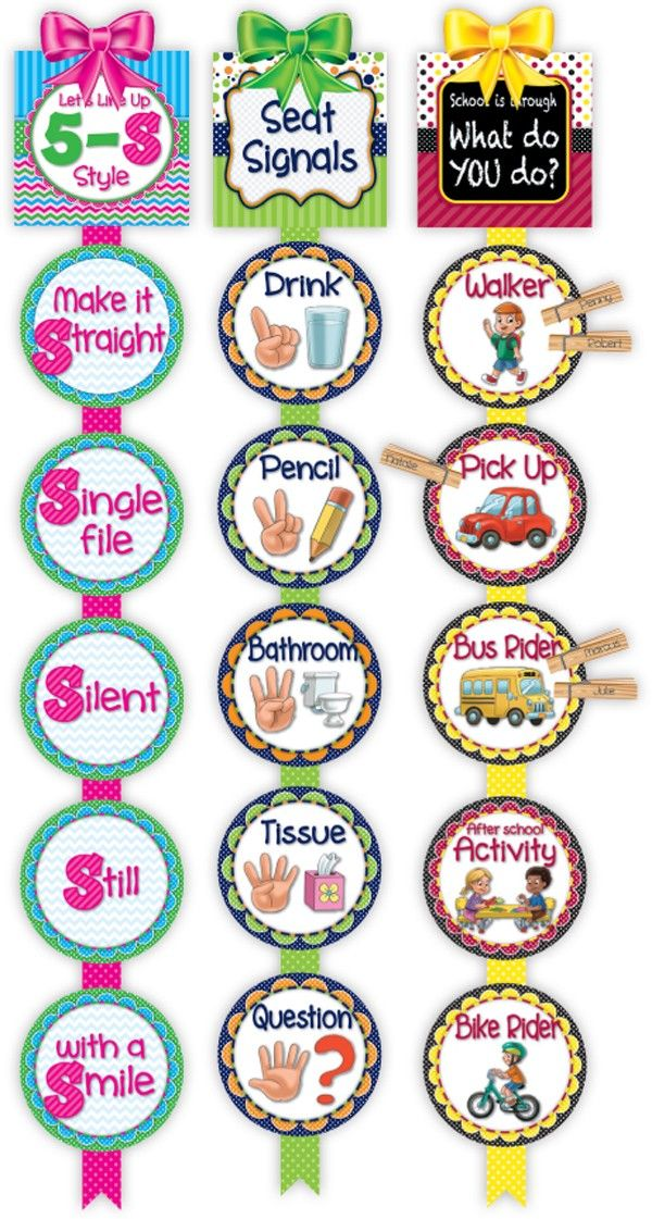 CLASSROOM MGMT READY REMINDERS - Calendars - Classroom Decorations  | Frog Street Press