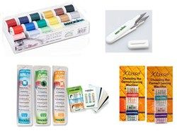Madeira Thread, Stabilizer, Needles and Snips Bundle - Embroidery Supplies - AnnTheGran.com