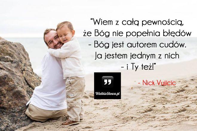 Wiem z całą pewnością... #Vujicic-Nick,  #Motywujące-i-inspirujące