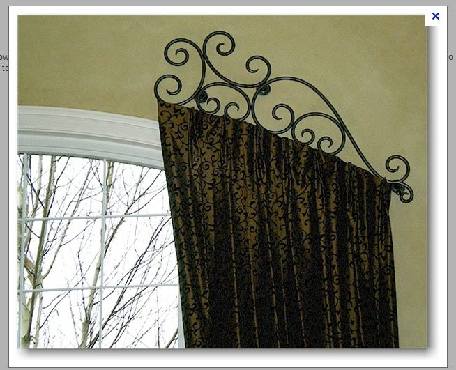 How To Get The Right Custom Draperies With Images Arched
