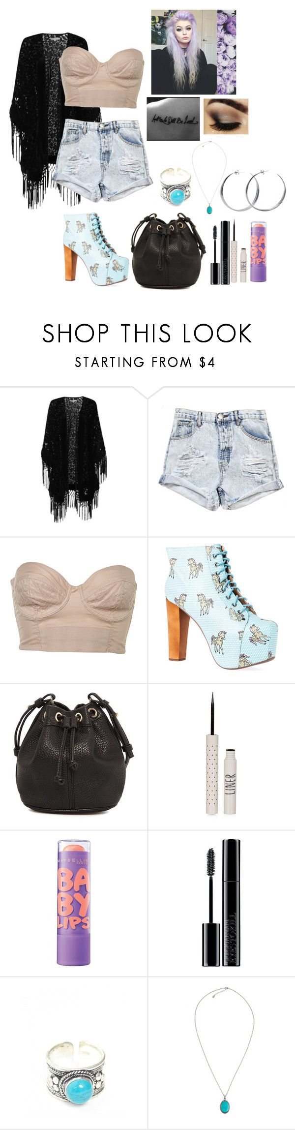 """Hold on there will be tomorrow I'm time you'll find the way"" by sophstar2000 ❤ liked on Polyvore featuring True Decadence, OneTeaspoon, Jeffrey Campbell, MANGO, Topshop, Maybelline, Giorgio Armani, Shop Dixi, Accessorize and Coco's Liberty"