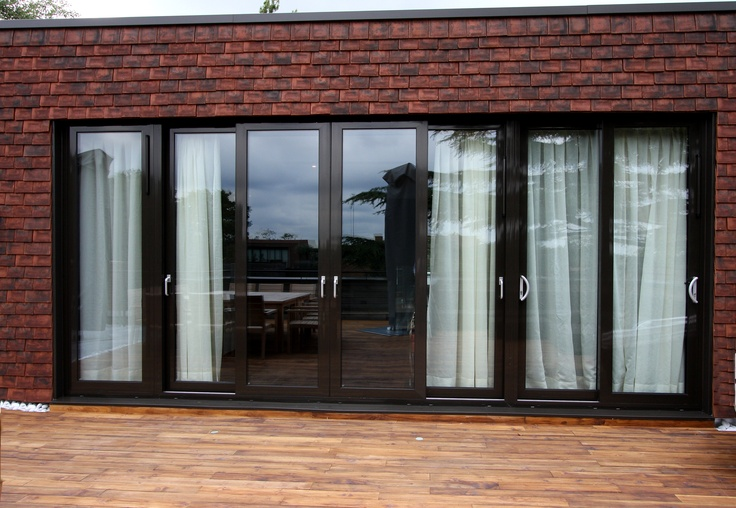 Architect specified chunky framed casement doors
