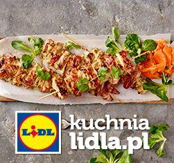 Podwędzane szaszłyki z kurczaka w sosie pomarańczowo-sojowym, z sałatką z marchewki. Kuchnia Lidla - Lidl Polska. #lidl #okrasa #szaszlyki