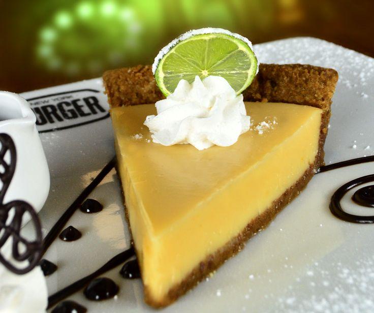 Key Lime Pie!  Clásico y delicioso pie de limón! - Postres NYB