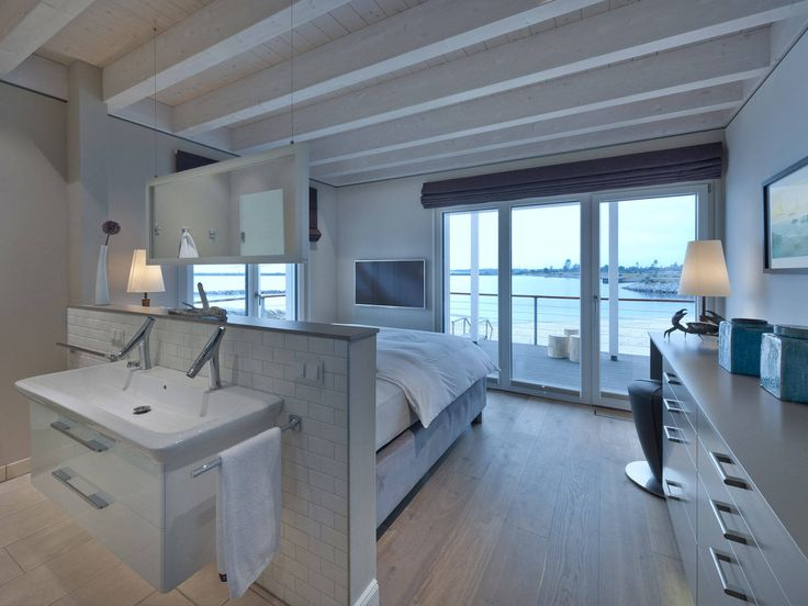 Schlafzimmer Im Landhaus Mommsen Von Baufritz U2022 Mit Musterhaus.net  Traumhaus Finden Und Inspirationen Für