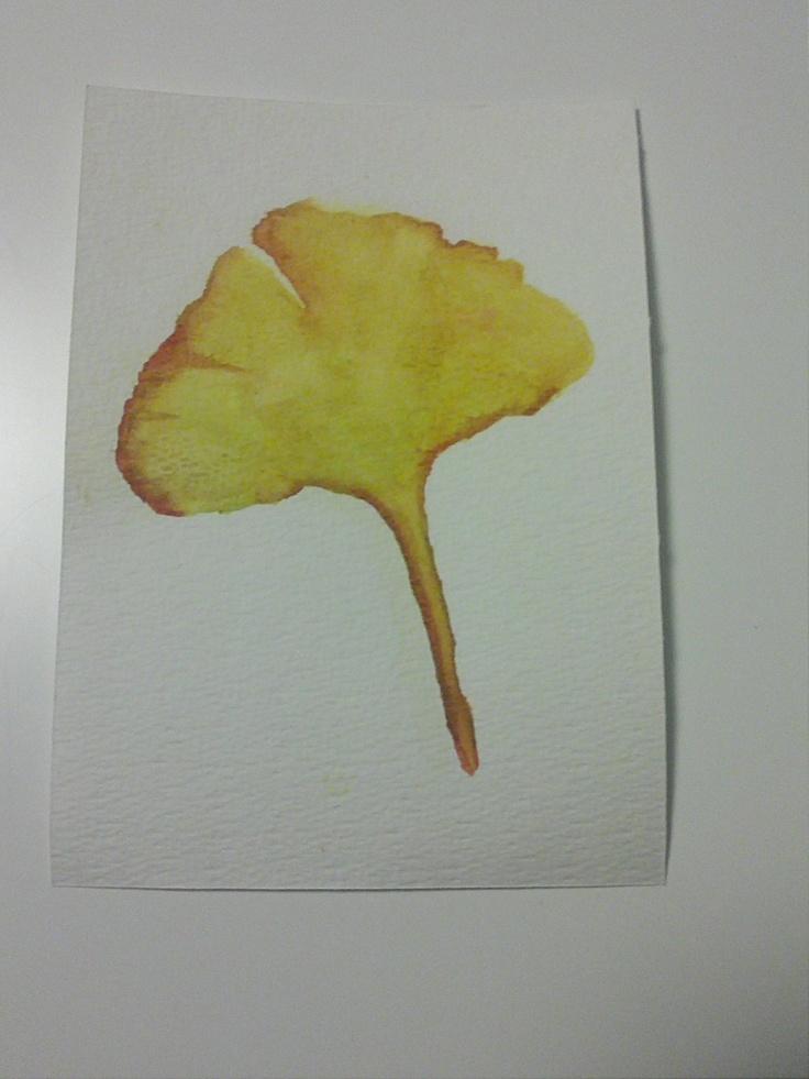 Ginkgo Biloba Leaf. €7,00, via Etsy.