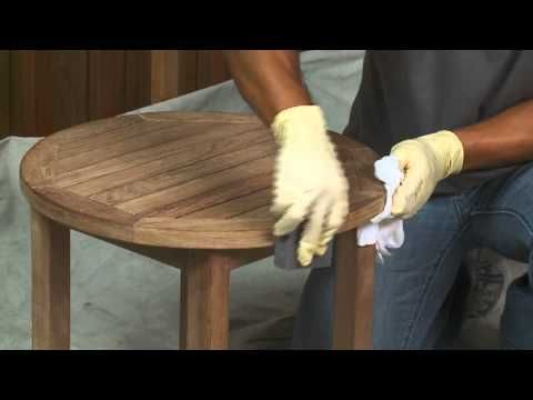 How-To: Stain Wood Furniture. A handy video to watch to get the right techniques for staining and restoring old furniture
