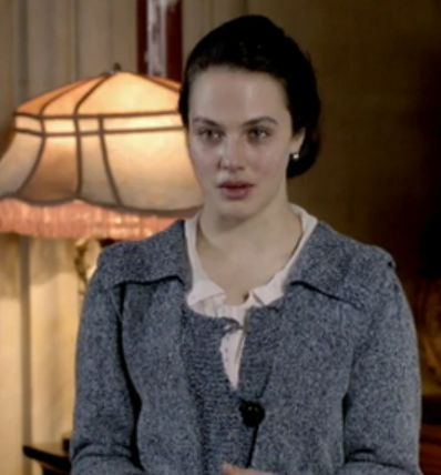 I'm knitting Sybil's Sweater from Downton Abbey!: Soon To B Patterns