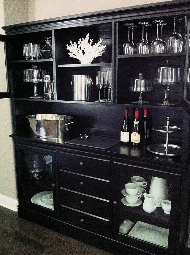 Black Dining Hutch For The Home Pottery Barn