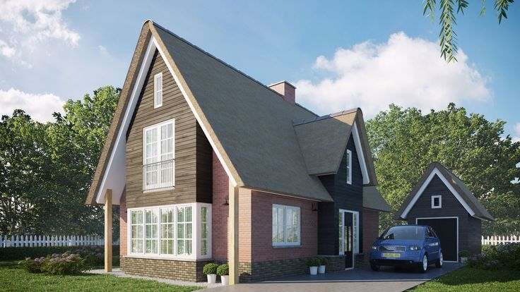 Landelijk woning buitenhuis villabouw buitenhuis for Moderne villabouw