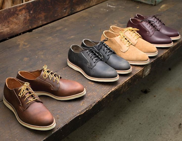 Red Wing Postman Oxfords