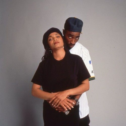 Janet jackson and tupac poetic justice tupac pinterest