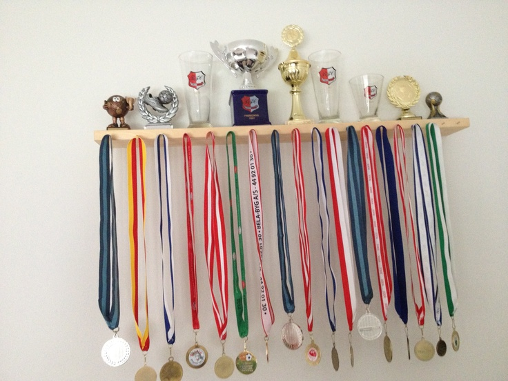 For Henry's chess medals and (hopefully) trophies