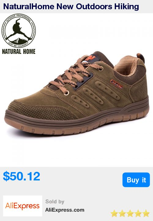 NaturalHome New Outdoors Hiking Shoes Men New Outdoor Designer Boots Trekking Shoes Men' Walking Shoes Man Athletic Boot * Pub Date: 22:17 Apr 11 2017