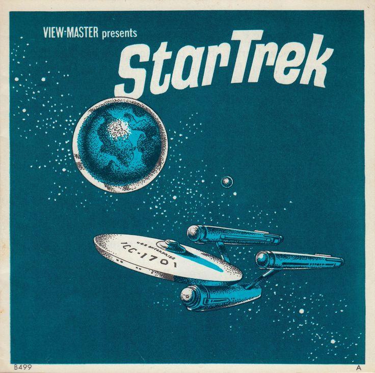 STAR TREK The original TV series View-Master set 1968 booklet (minkshmink) Yes I love Star Trek.