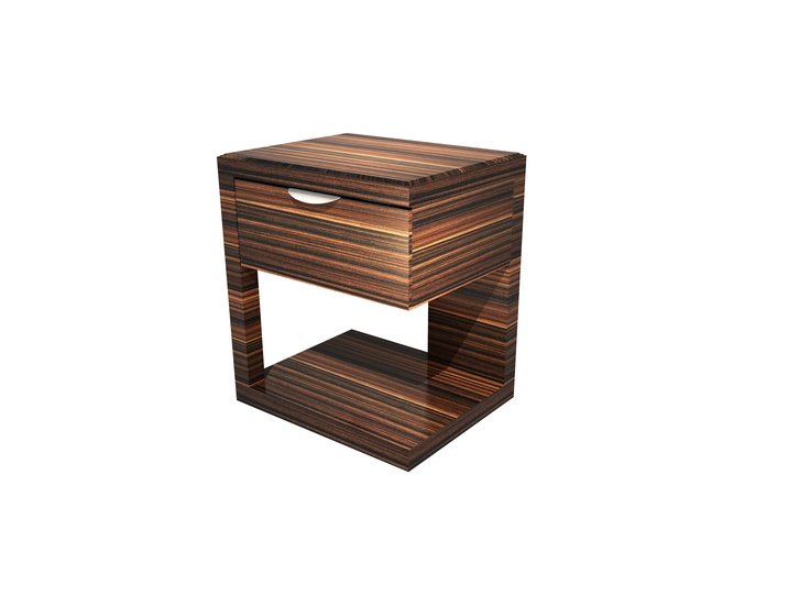 Beautiful and unique side table part of the Teatree collection with a Zebra wood finish.  #furniture #hotels #resorts #interiordesign