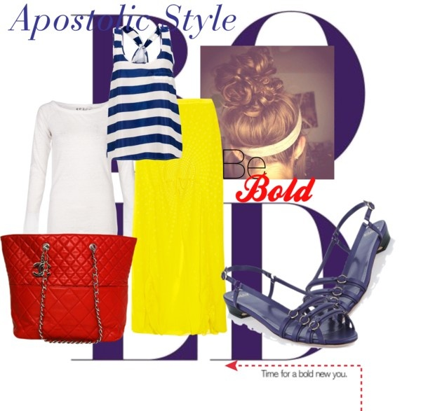 """""""Be Bold Apostolic Style"""" by emmyholloway on Polyvore not the shoes"""