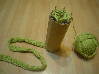 MY CREATION TO CREATE  WOOL TUBES IN KNITTING
