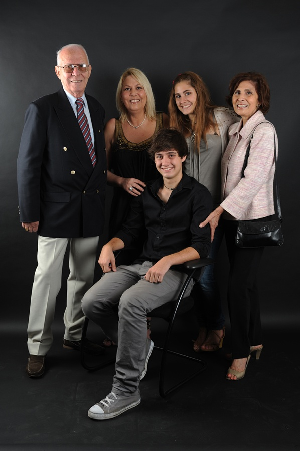 Famille de Niels Renard  © Lionel Flusin