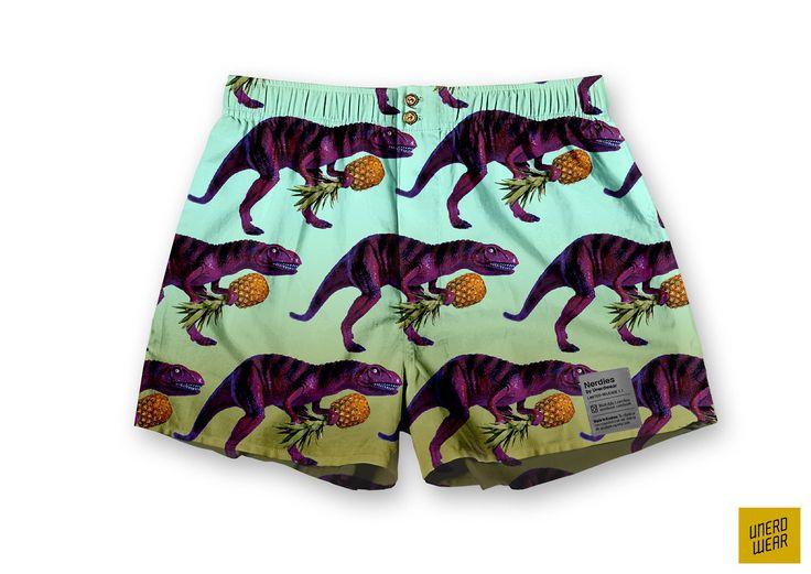 "Unerdwear Nerdies ""Beach Dinacolada"" #boxers #underwear"