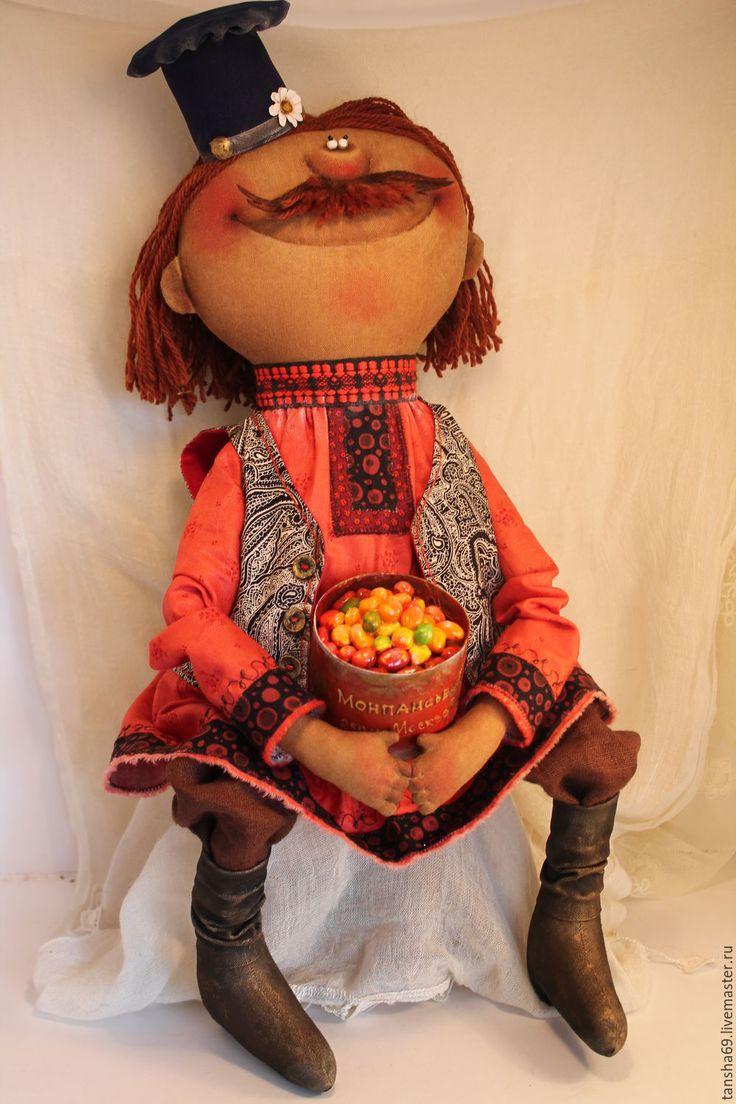 Купить Монпансье! - комбинированный, текстильная кукла, ароматизированная кукла, интерьерная кукла, деревенский стиль, ткань