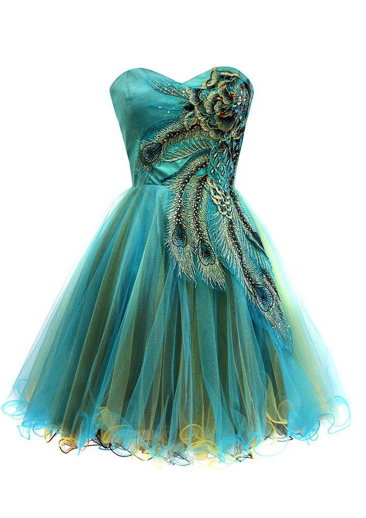 Peacock dress                                                                                                                                                     More